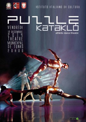 "Spectacle ""Puzzle"" de Kataklò Athletic Dance Theatre"