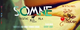 Better Than Heaven #2 invite DJ SOMNE (Life and Death)