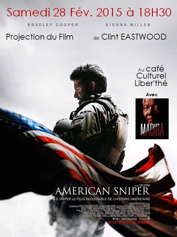 projection du film american sniper de clint eastwood. Black Bedroom Furniture Sets. Home Design Ideas
