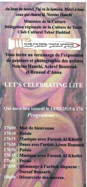 "Exposition ""Let's Celebrate Life"""