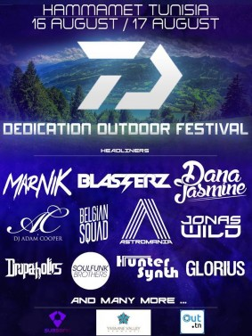 Dedication Outdoor Festival Tunisia 2015